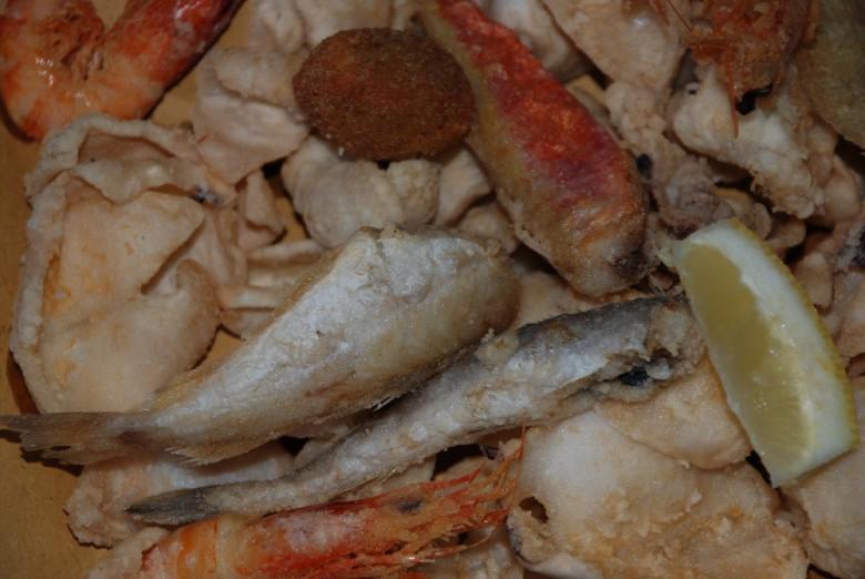 Pesce fritto de La Pescheria del Centro