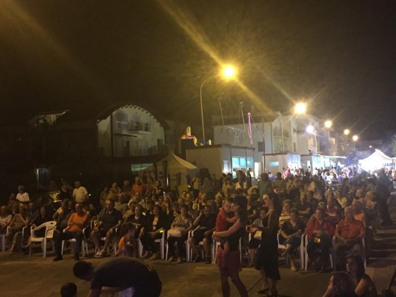 Il pubblico di una delle serate di Insieme in Festa 2015