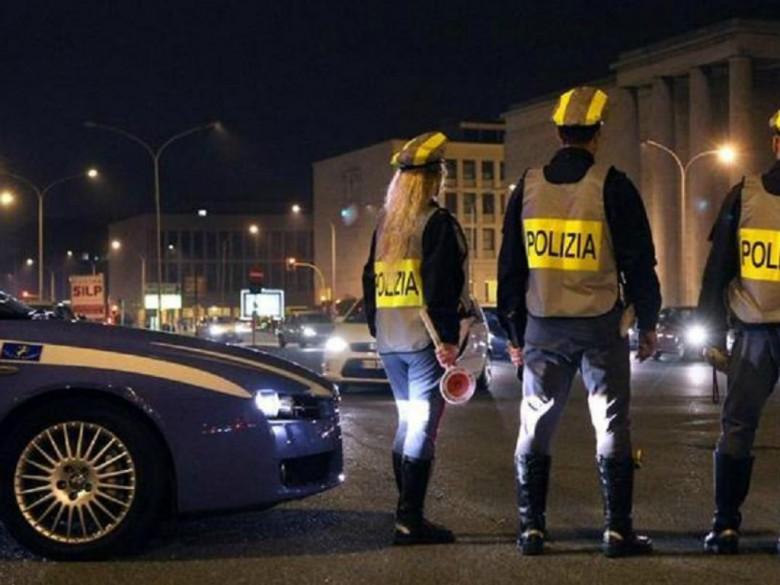 Polizia Stradale (foto della Questura di Teramo)