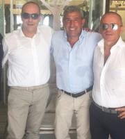 Salvatore Bagni con Gianni Moneti