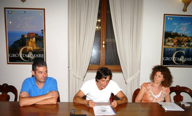 Alessandro Rocchi, Enrico Piergallini e Giuliana Crescenzi