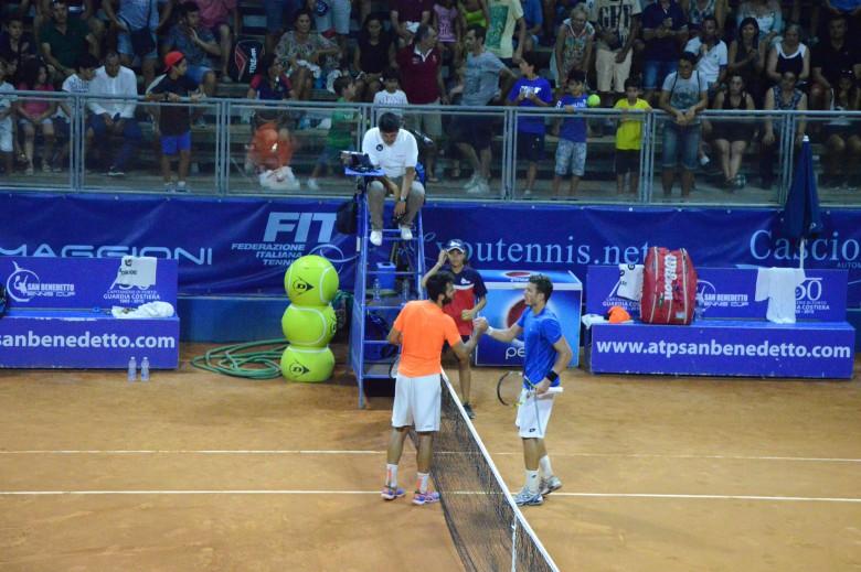 Semifinale tra Caruso e Giannessi (foto di Andrea Zoboletti)
