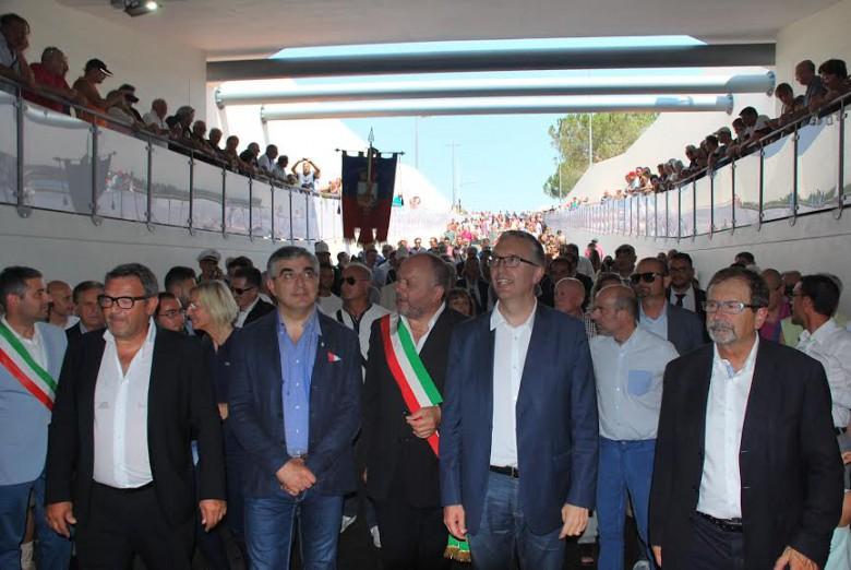 Inaugurazione sottopasso di Via Pasubio