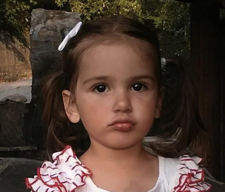 La piccola Katia (foto inserita per aiutare le ricerche)