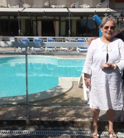 Adelisa Ferrario all'Hotel sayonara di San Benedetto