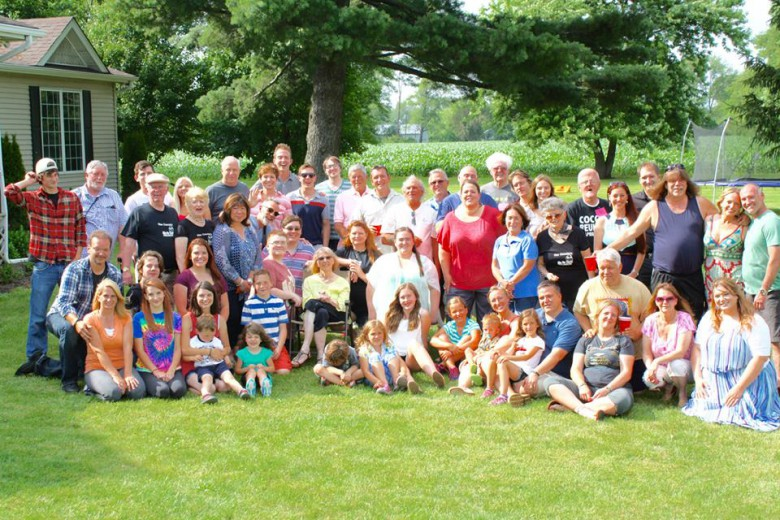 Coccia Family, foto scattata durante l'incontro del 20 giugno