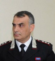 Il capitano dei Carabinieri Raffaele Iacuzio