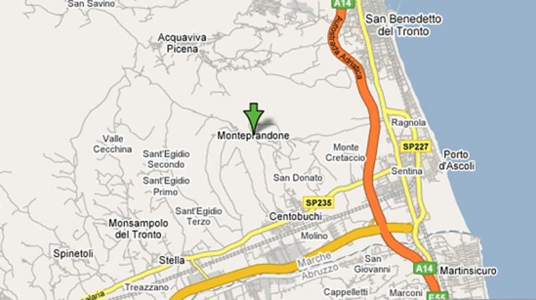 La mappa della città grande