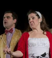 I due attori in scena