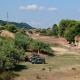 Scoppio dell'ordigno bellico (foto CDC vigilfuoco Ascoli Piceno)
