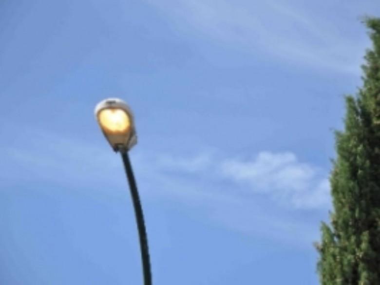Palo della luce (foto tratta dal sito tele8tv.com)