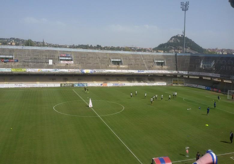 Lo stadio di Campobasso