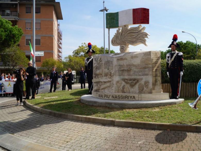 Cerimonia (foto dei Carabinieri di San Benedetto del Tronto)
