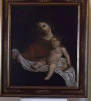 Madonna con bambino (foto rilasciata dal Nucleo Tpc di Ancona)