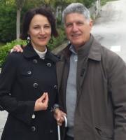 Il dottor Mauro Persico con la moglie Rita Partemi