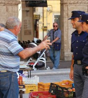 Poliziotti di Quartiere (Foto della Questura di Ascoli)