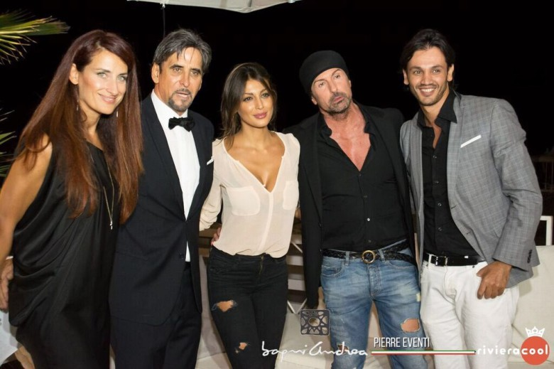 Sandro Assenti con alcuni suoi ospiti