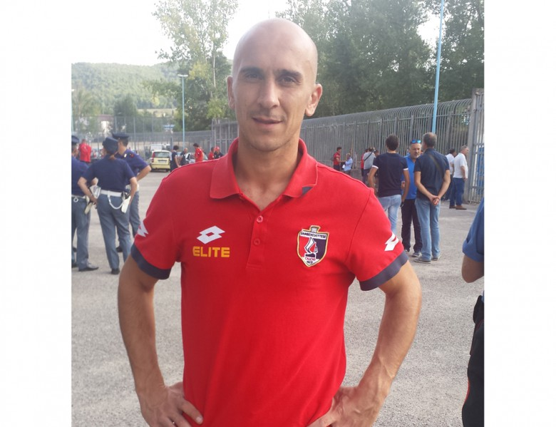 Alessandro Sabatino dopo la vittoria di Campobasso
