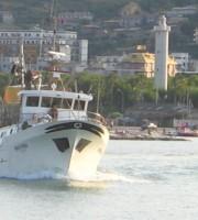 Peschereccio nel porto di San Benedetto