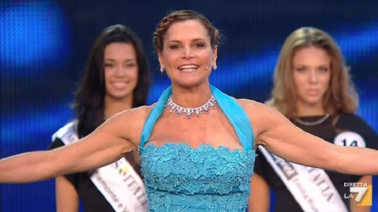 Simona Ventura, Miss Italia