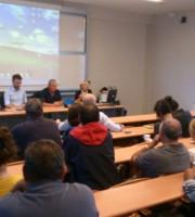 Un momento del convegno dell'Itb alla Facoltà di Economia