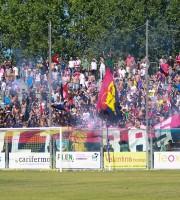 Fermana-Samb 3-3, tifosi