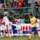 Fermana-Samb 3-3, esultanza dopo il gol