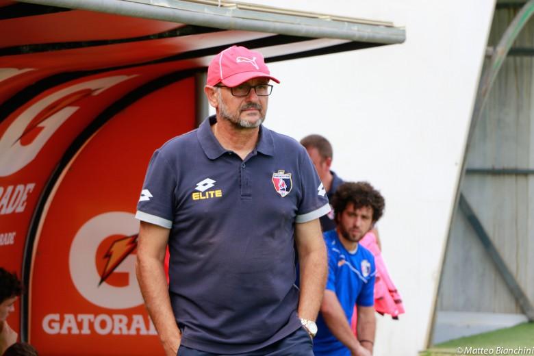 Samb-Avezzano 2-1, mister Beoni