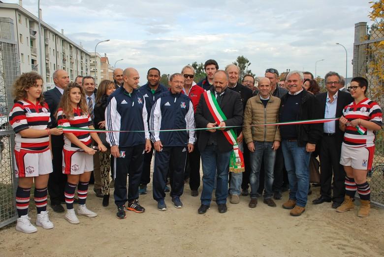 Inaugurazione campo rugby Nelson Mandela