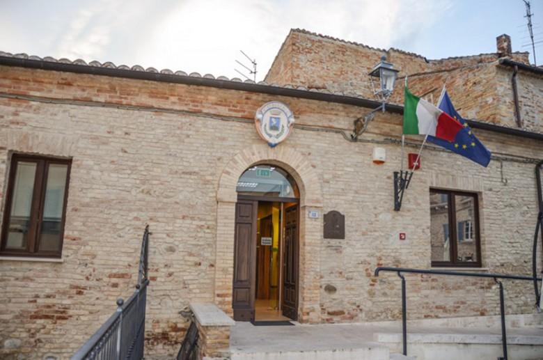 il municipio di Tortoreto