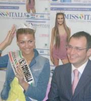 Bruno Gabrielli e Cristina Chiabotto, Miss Italia nel 2004