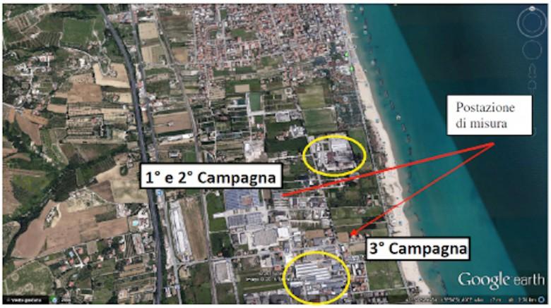 Le zone sottoposto ad analisi della qualità dell'aria da parte dell'Arta Abruzzo