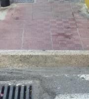 Barriere architettoniche nel quartiere di Zona Ascolani