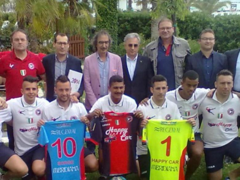 Gabriele Mascitti (il quarto in alto partendo da sinistra)