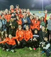 Il patriarca dell'Atletica Sambenedetetse Gabriele Cavezzi riceve il Trofeo MIrabile