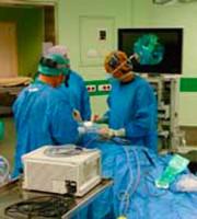 Sala operatoria di Otorinolaringoiatria