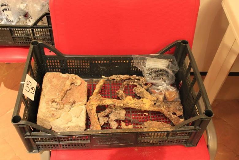 Paese Alto Grottammare, reperti archeologici