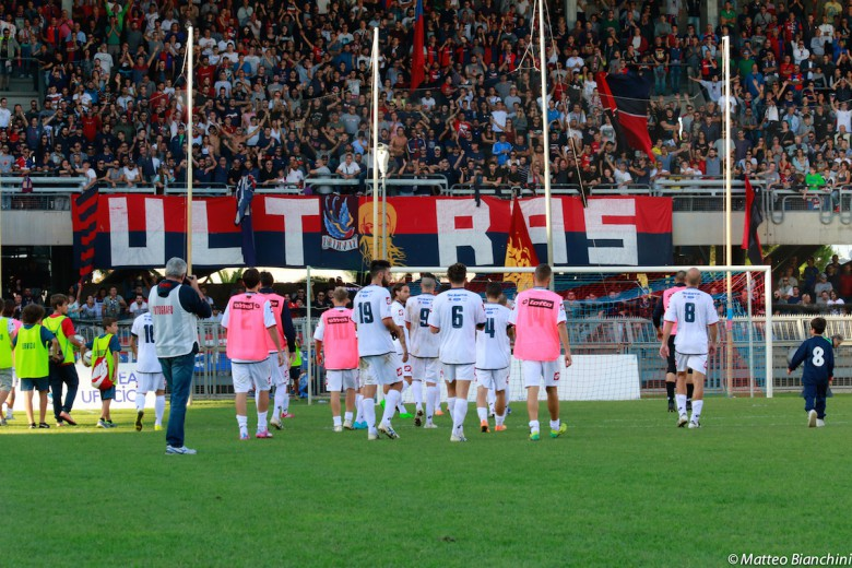 Samb-Monticelli 4-5, rossoblu sotto la curva