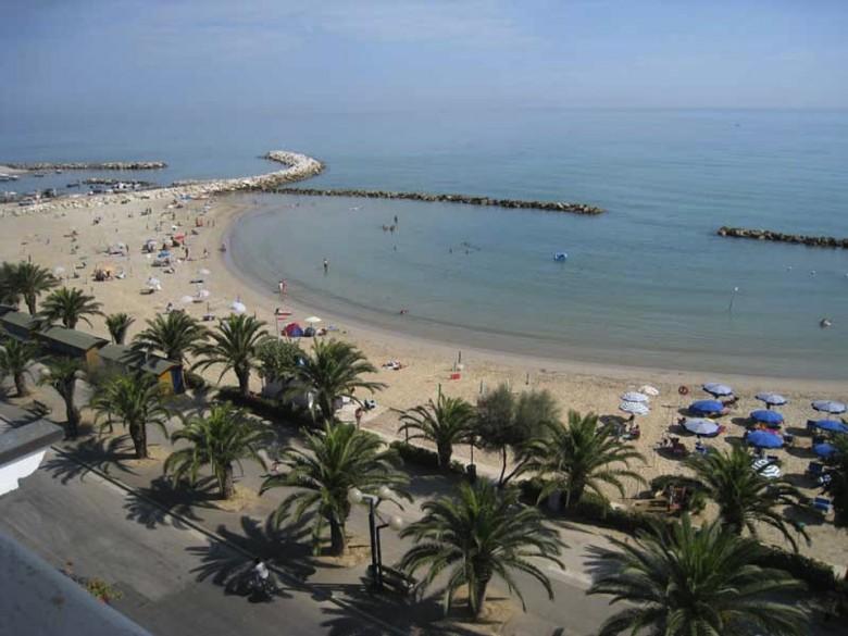 La spiaggia di Martinsicuro