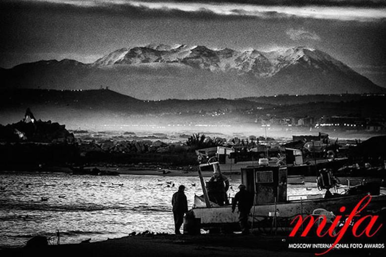 """""""Terra di confine"""" una delle foto di Alberto Cicchini premiate al Mifa di Mosca"""