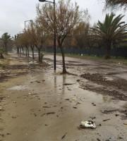 ecco come si presenta il lungomare di Villa Rosa Sud dopo la mareggiata