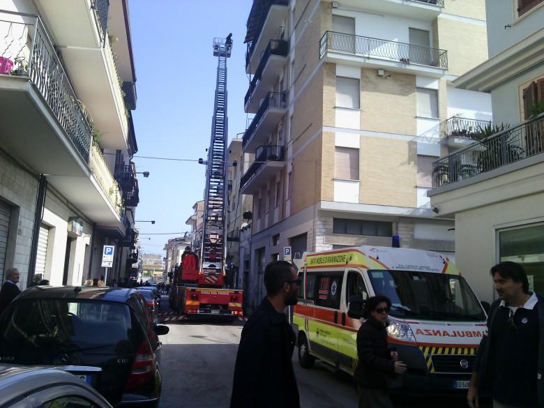 Incendio in via Carducci, 4 novembre
