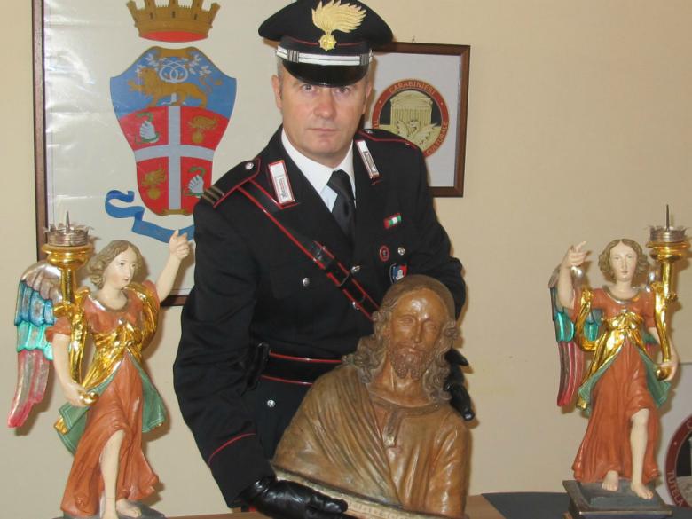 Opere recuperata dal Ntpc di Ancona