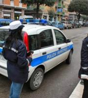 Polizia Municipale (foto da Twitter San Benedetto del Tronto)