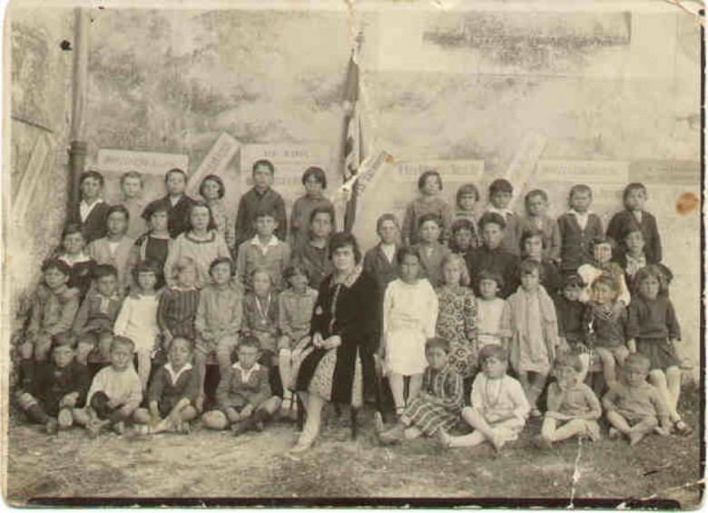 Una classe italiana di inizio Novecento