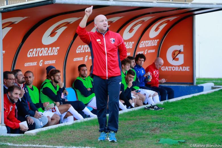 Samb-Giulianova 2-0, mister Palladini