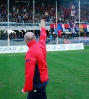 Samb-Giulianova 2-0, il saluto di Palladini alla Nord