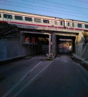 slitta la riapertura del sottopasso di via Roma a Martinsicuro