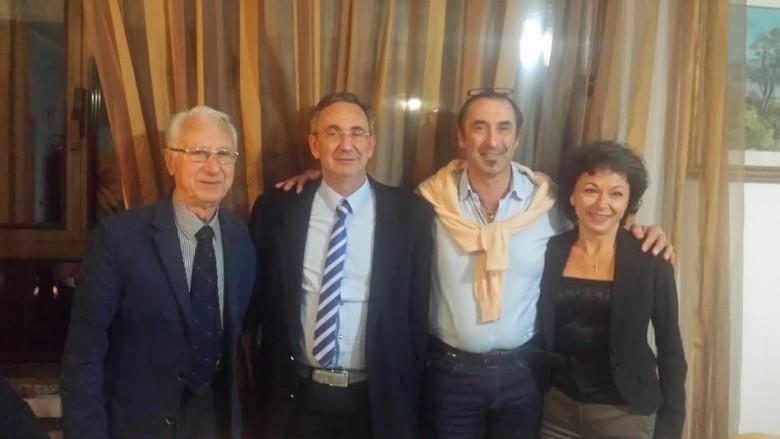Acot Cupra tra passato, presente e futuro, da sinistra Giuseppe Mascaretti, Paolo Nespeca, Elio Basili e Milva Ricci