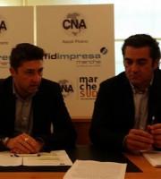 Francesco Balloni e Massimo Capriotti di Cna